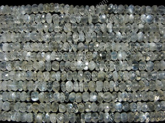 Sillimanite Faceted Roundel Quality AA / by GemstoneWholesaler