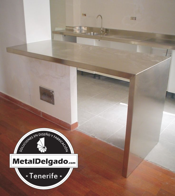 Acero Inoxidable Tenerife  Hogar muebles acero inoxidable  Pinterest