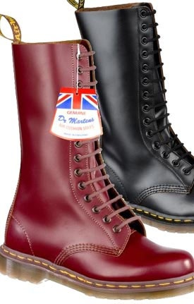 14 Eye Oxblood Dr. Martens Boot (MADE IN ENGLAND!)