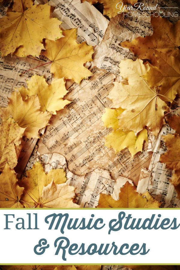 Fall Music Studies & Resources -