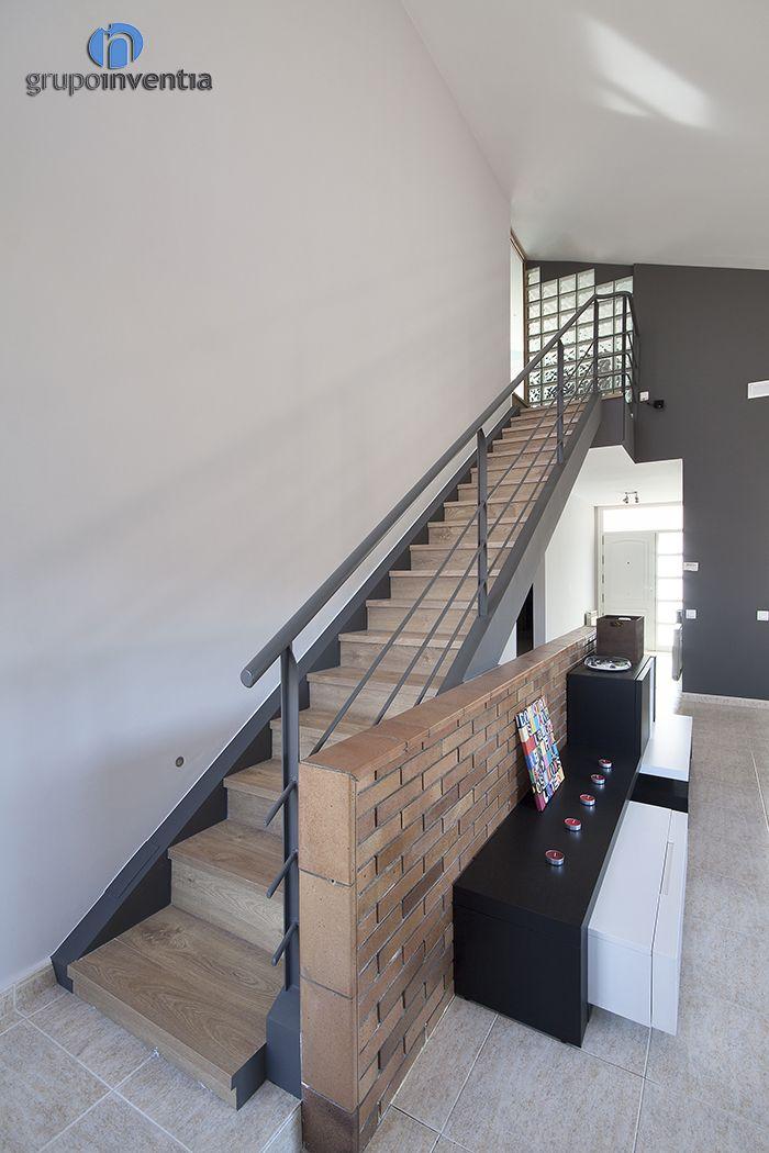 13 best escaleras madera y hierro images on pinterest - Escaleras de hierro ...