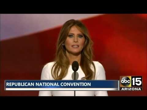 FULL SPEECH: Donald Trump introduces Melania Trump at Republican National Convention 2016.