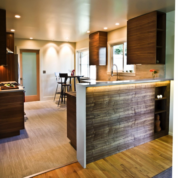 Modern Kitchen Quartz Countertops: 24 Best Walnut Cabinetry Images On Pinterest