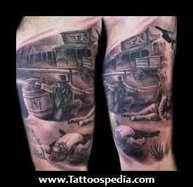 Western Tattoos For Men - Tattoospedia