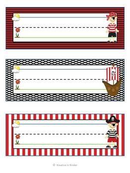 Pirate Theme Classroom Decor Set $6
