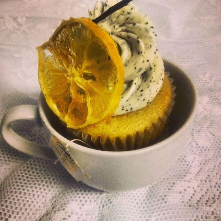 Vanilla Earl Grey Cupcakes