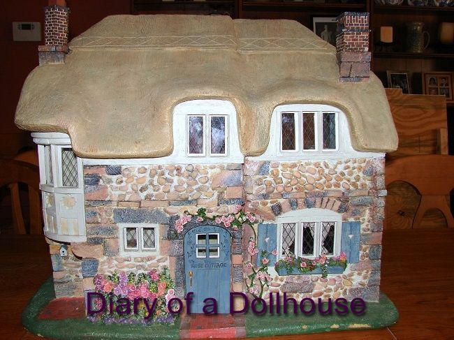 I Couldn T Resist This Vintage Colonial Dollhouse From The: 44 Best Hummingbird Cottage Images On Pinterest