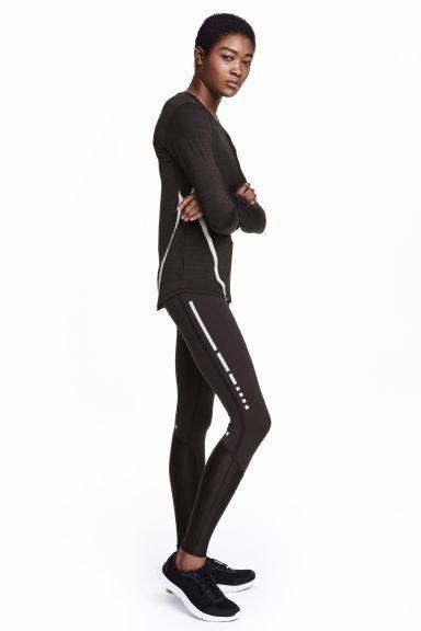 コンプレッションフィット ランニングタイツ | H&M