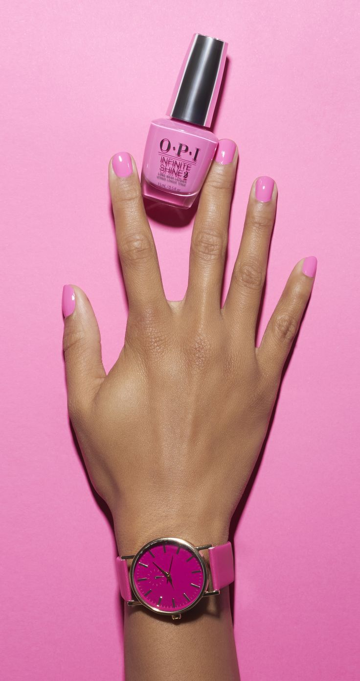 Pink over everything. Shade shown: Two Timing The Zones