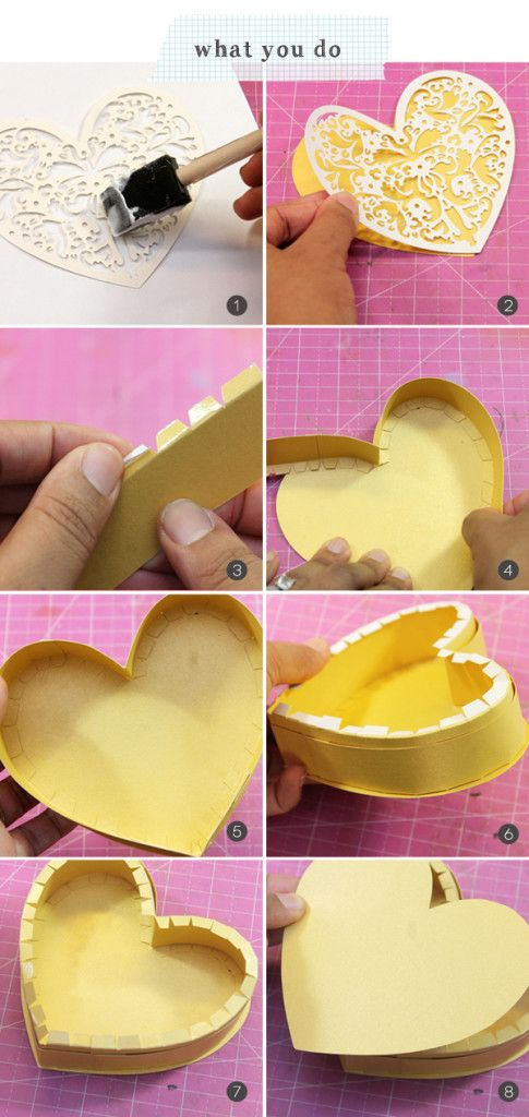 A Handmade Box of Chocolates-Interesting DIY Paper Craft Ideas