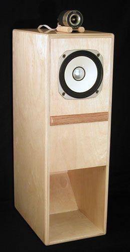Fostex BK-16 Loudspeaker Kit and Speaker Cabinets