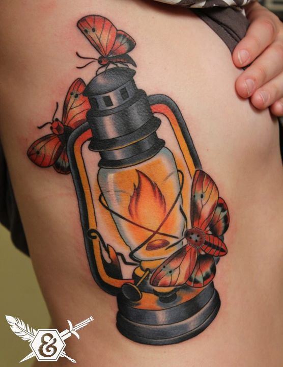 42 best Lamp Tattoos images on Pinterest | Lamp tattoo ...