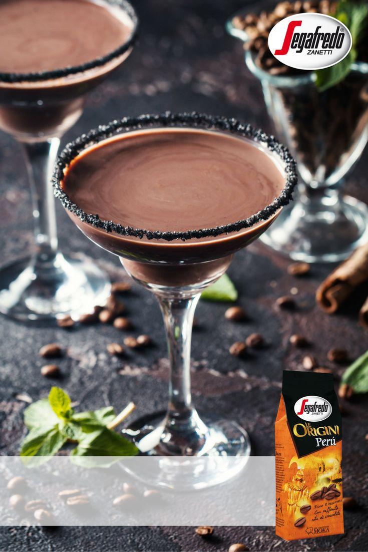 Kawowy drink? Shekerato na bazie Le Origini Peru z dodatkiem likieru czekoladowego lub rumu! #Segafredo #czasnakawe #shekerato #coffeedrinks