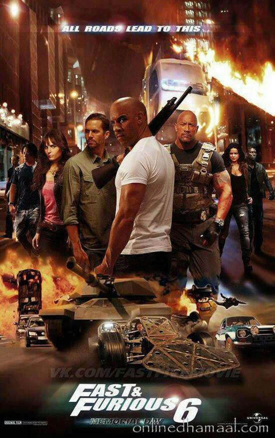 Fast and Furious 6!  This movie was awesome, saw it the May 24th. EPIC!!