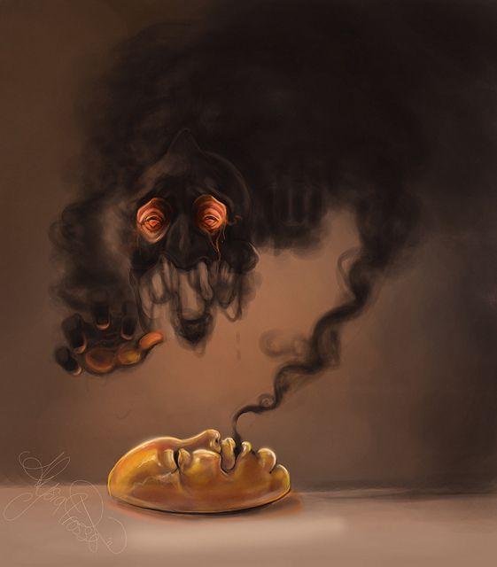 by Alysia Prosser, creepy yamask
