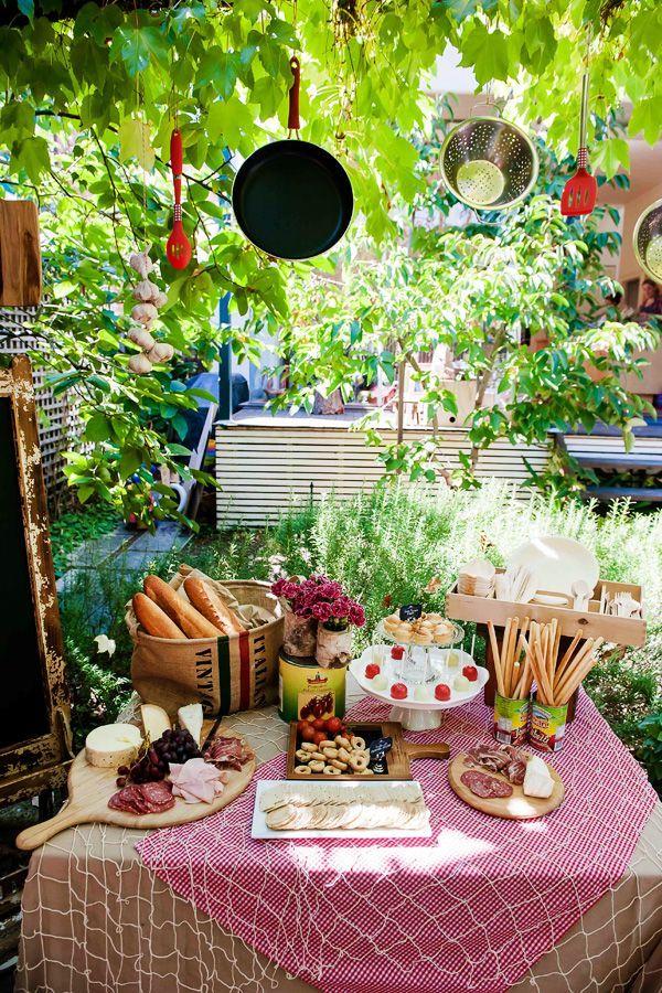 Italian Themed Party   La Dolce Vita - Italian Themed party   Pretty Party Ideas