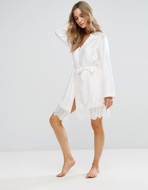 Ted Baker Bridal Tie The Knot Kimono Perfect to get ready in and for the honeymoon! #WedWithTed @tedbaker