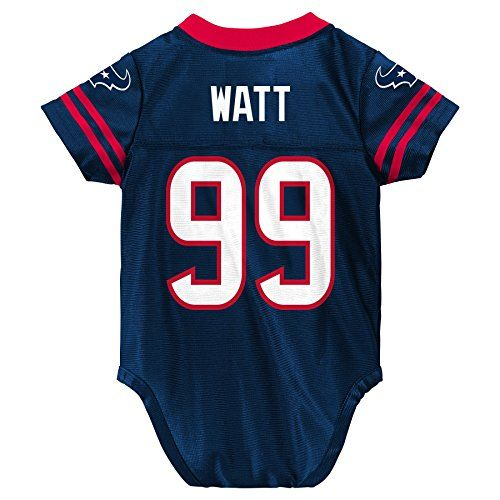 NFL Houston Texans Player Name and Number Onesie Replica Jersey - http://nflshop4u.com/shop/nfl-houston-texans-player-name-and-number-onesie-replica-jersey/