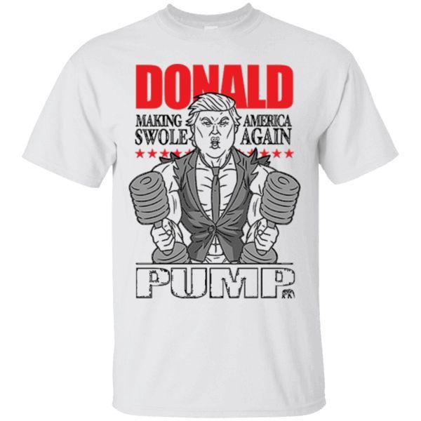 Hi everybody!   Donald Pump - Make America Swole Funny Political Shirt https://lunartee.com/product/donald-pump-make-america-swole-funny-political-shirt/  #DonaldPumpMakeAmericaSwoleFunnyPoliticalShirt  #DonaldSwolePolitical #PumpSwole #FunnyShirt #SwoleF