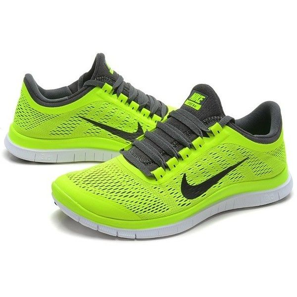 Nike Free Run 3.0 V5 Men Light Yellow Running Shoes