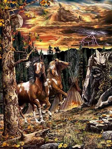 Find the Hidden Horses   Find The Hidden Horses!   Mighty Optical Illusions