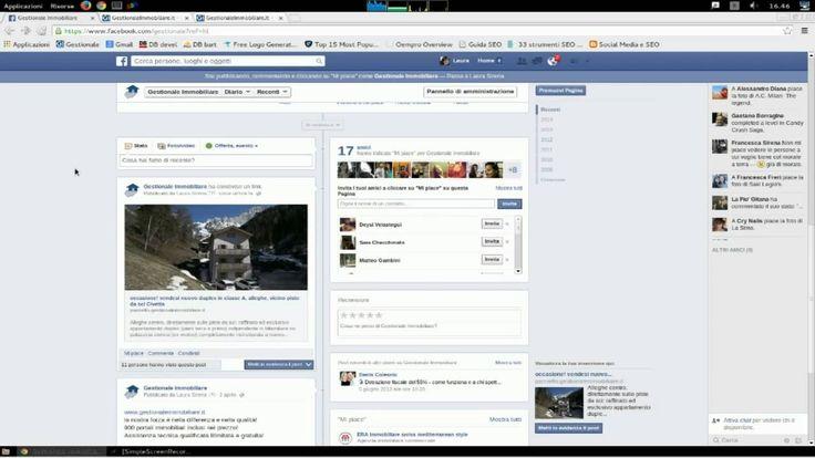Condivisione su Facebook GestionaleImmobiliare itFacebook è uno dei social network maggiormente utilizzato. Diventa molto importante anche sotto il profilo lavorativo perchè ti permette di raggiungere un elevato numero di utenti. Gratis il modulo di condivisione automatica degli immobili su Facebook con www.gestionaleimmobiliare.it