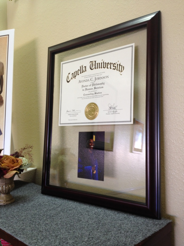 17 Best Images About Framing Of Degrees Diplomas And
