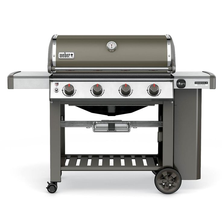 Weber Genesis II SE-410 Special Edition Freestanding Propane Gas Grill - Smoke available at BBQ Guys. Introducing the all new Weber...