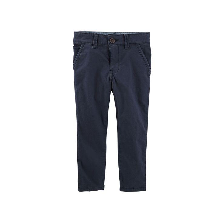 Boys 4-12 OshKosh B'gosh Slim Chino Pants, Blue
