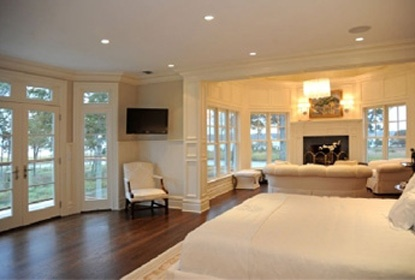 4. Interior and exterior images of Mariah Carey and Nick Cannon's gorgeous Hamptons rental home.