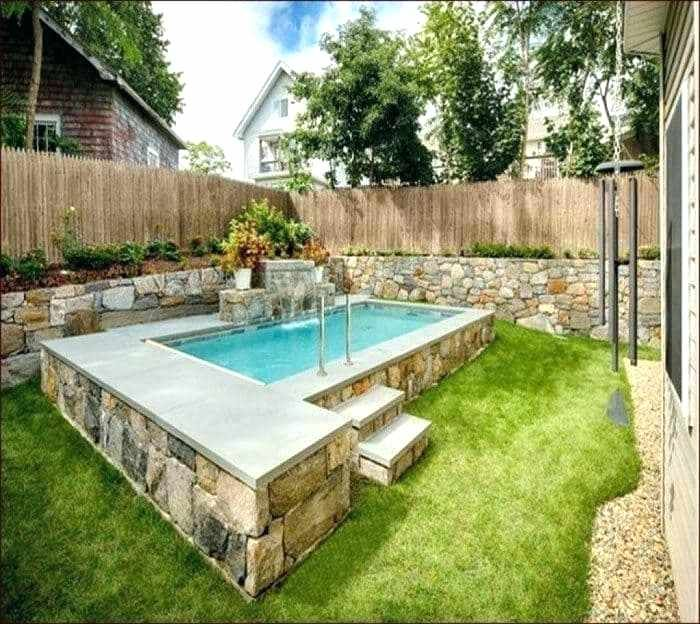 Design Very Small Pools Small Backyard Pools Small Backyard With