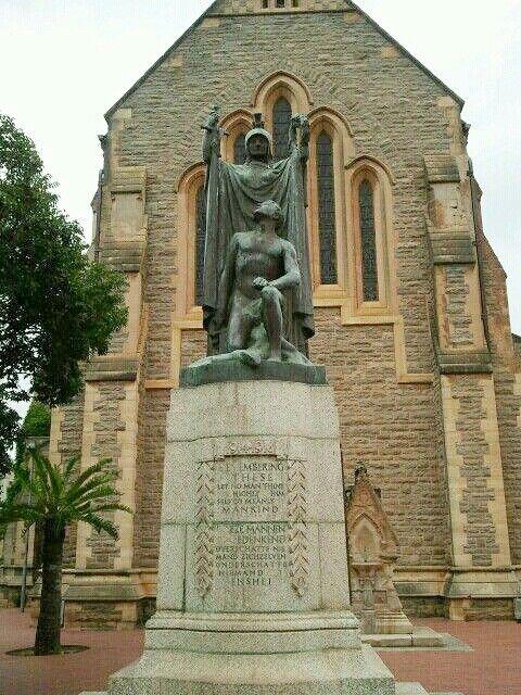 Church in Grahamstown, Eastern Cape, South Africa. Photograph by Martie van Niekerk