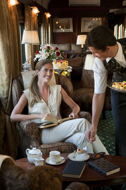 562 best orient express images on pinterest train travel train rovos rail has good reason to claim that its largely wood panelled train is the most luxurious in the world the royal suites are certainly the most fandeluxe Choice Image