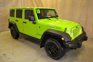 Check out this 2013 Jeep Wrangler Unlimited Moab in Gecko Pearl from Autoland Outlets in Roscoe, Illinois 61073. It has an automatic transmission. Engine is 3.6L V6. Call Autoland Outlets at 815-525-5000 today!