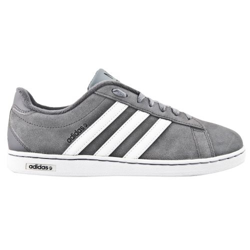 #adidas Derby II Men's Shoe in Grey and Yellow comes with a smooth Nubuck  style