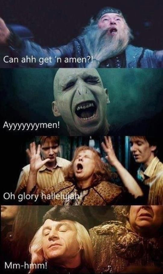 Harry Potter and the Gospel Choir