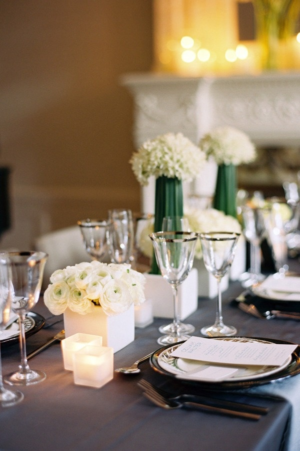 I LOVE this table decor!    Brooklyn Historic Mansion Shoot by Karen Wise Photography + Ang Weddings & Events
