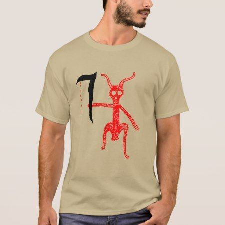Red Demon with weapon T-Shirt - click to get yours right now!