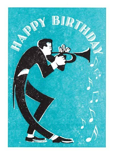 Happy Birthday Trumpet