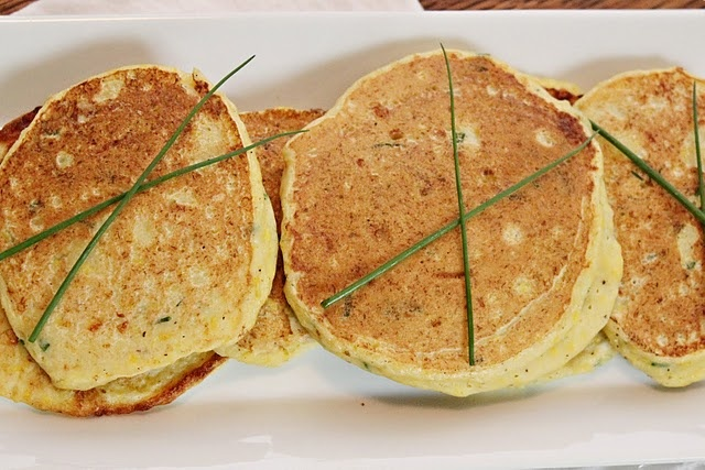 Summer Squash & Chive Pancakes | Recipes to Try - Savory | Pinterest