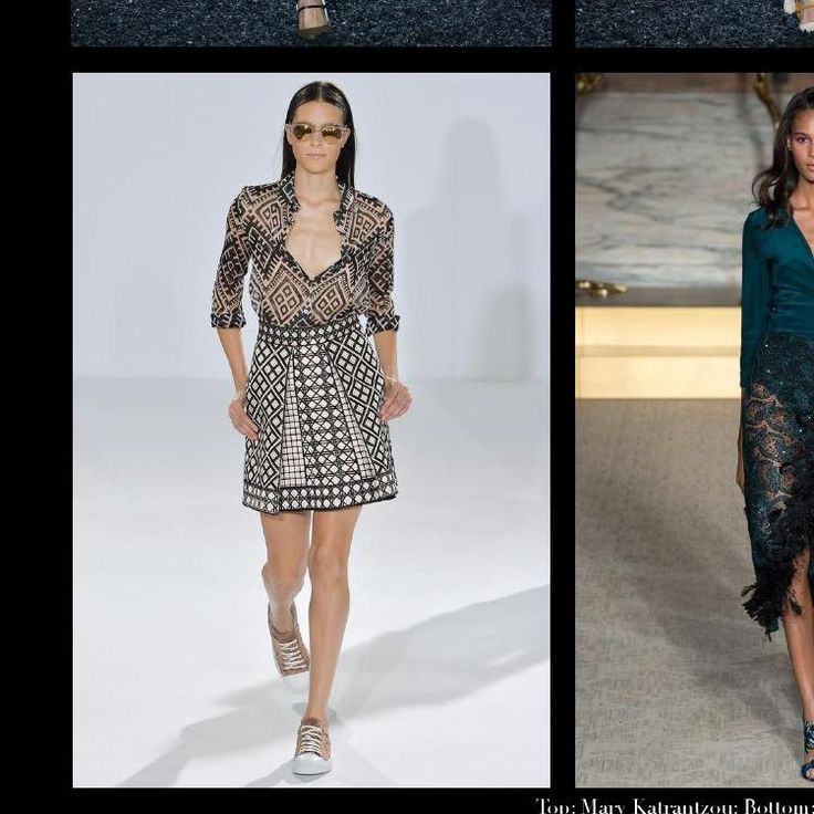 #ClippedOnIssuu from London Fashion Week: Spring 2015 Trend Report