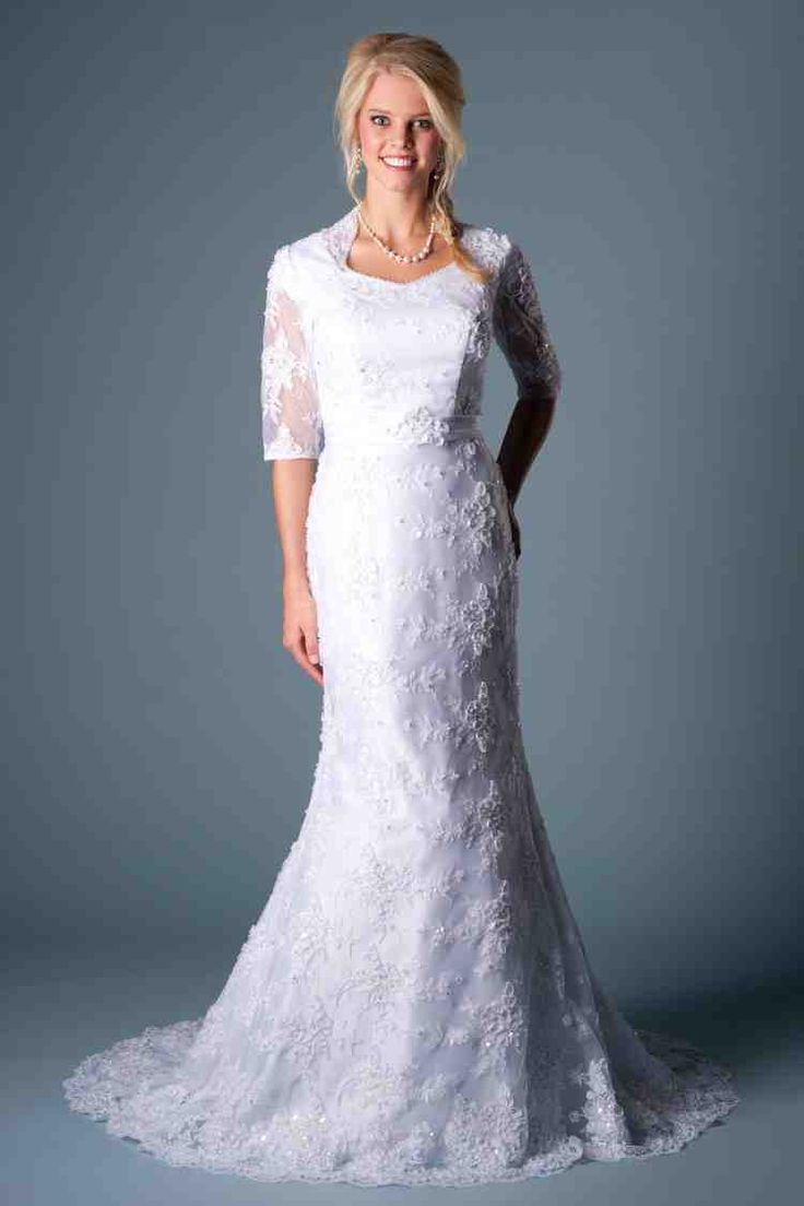47 best modest wedding dresses images on Pinterest ...