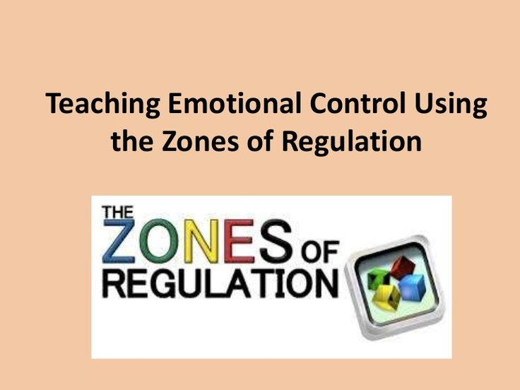 Intro to Zones of Regulation for staff and teachers