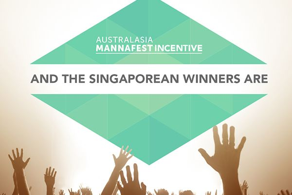 Our Singaporean Australasian MannaFest Incentive winners will be joining us Sydney for a weekend of recognition and celebration.