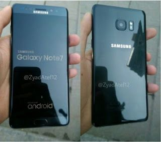 Tech News India: Samsung Galaxy Note 7R leaked with latest images.