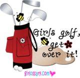 Girls Golf . . . For my neighbour lol