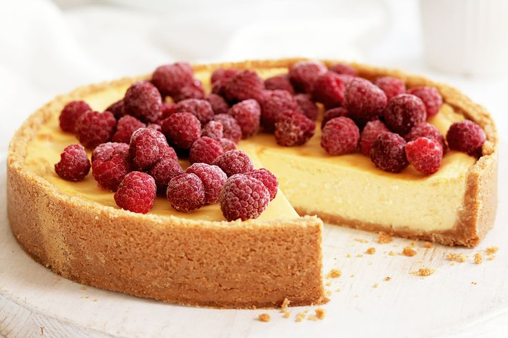 Take the cake and master the basics with this creamy baked version of a classic dessert.