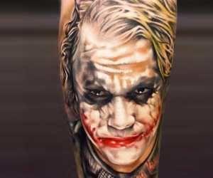 Joker tattoo tattoo by