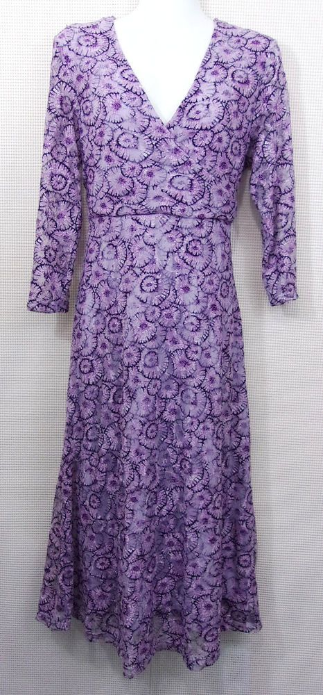 NorthStyle Long Purple Dress Size M Casual Party Easter #NorthStyle #SheathDress #Casual
