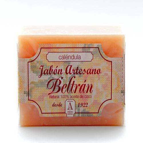 Jabón de Caléndula - Jabones Beltrán - 100gr, 2,50€ en Viva Nutrición - Antiinflamatorio y cicatrizante para pieles normales y delicadas.